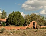Ranch for sale southwestern new mexico, image of the adobe ranch house