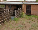 Ranch for sale, image of the barn and barnyard